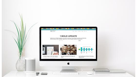 1 Bold Update - blog subscription